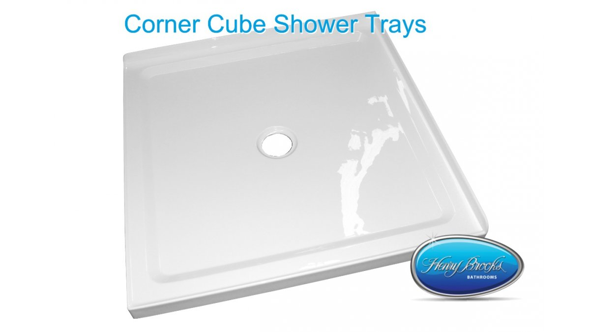 cube shower trays Henry Brooks2