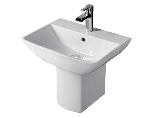 RAK Summit Wall Hung Basin and Shroud — RA-SU2111HP50