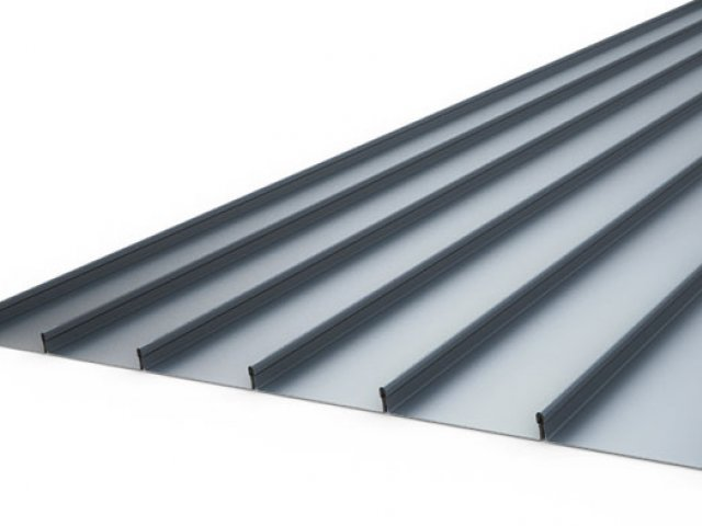 Espan 470 Aluminium Deep Trough Roofing and Cladding System