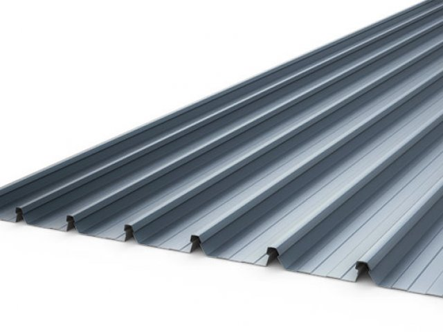 Metdek 855 Deep Trough Roofing and Wall Cladding System