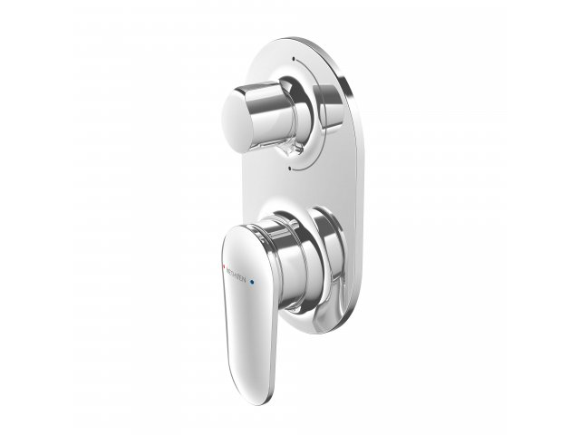 Aio Shower Mixer with Diverter