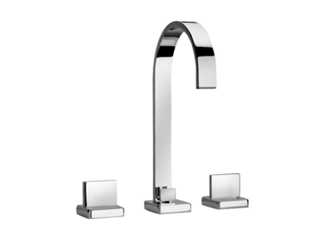 Ovo 3-Hole Basin Mixer