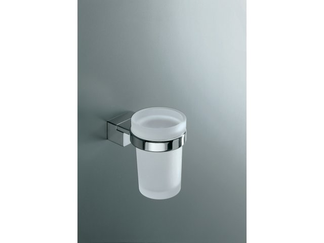 Logic Glass and Holder (Frosted Glass)
