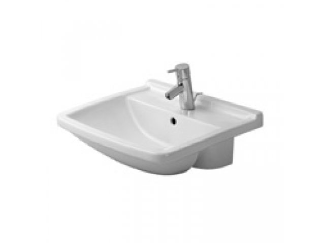 Starck 3 Semi-Recessed Basin