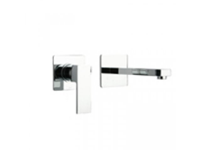 Dax R Wall-Mounted Basin Mixer