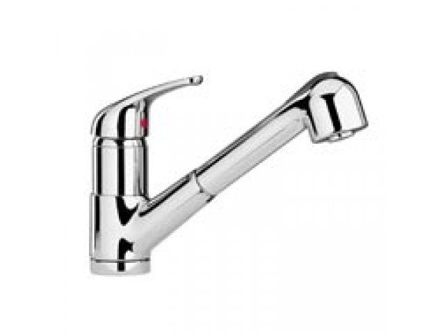 Aquasanit Kitchen Mixer With Pull-Out Spray