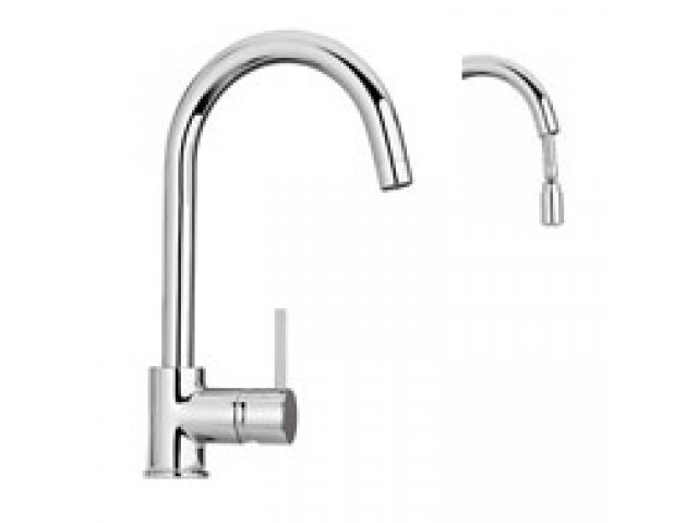 Cox Kitchen Mixer With Pull-Out Spray
