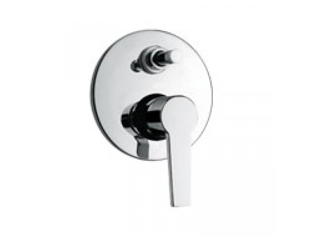 Le Mans Shower Mixer with Diverter