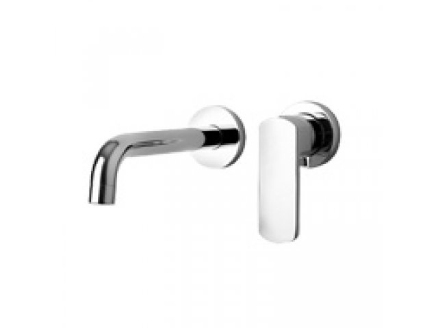 Ovo Wall-Mounted Basin Mixer