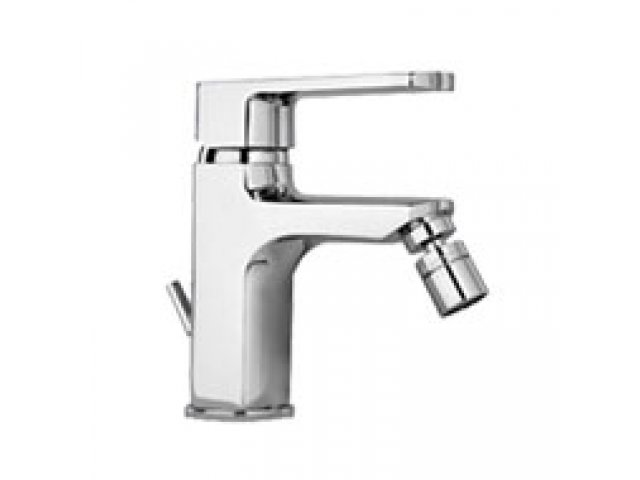 Ovo Bidet Mixer with Pop-Up Waste