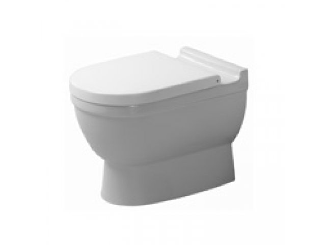 Starck 3 Back to Wall Toilet for Inwall Cistern