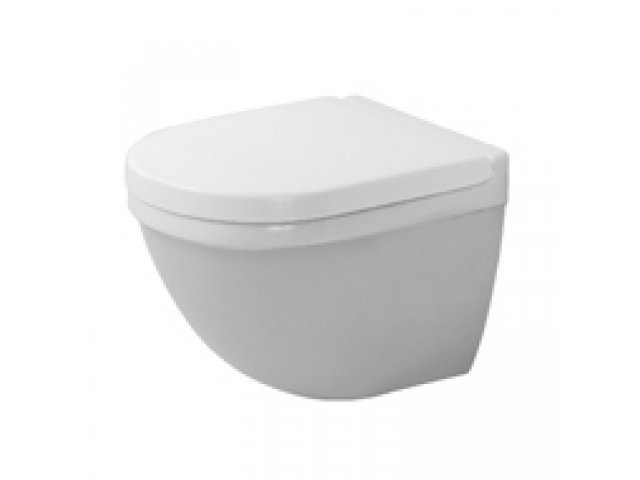 Starck 3 Compact Toilet Pan Wall Mounted