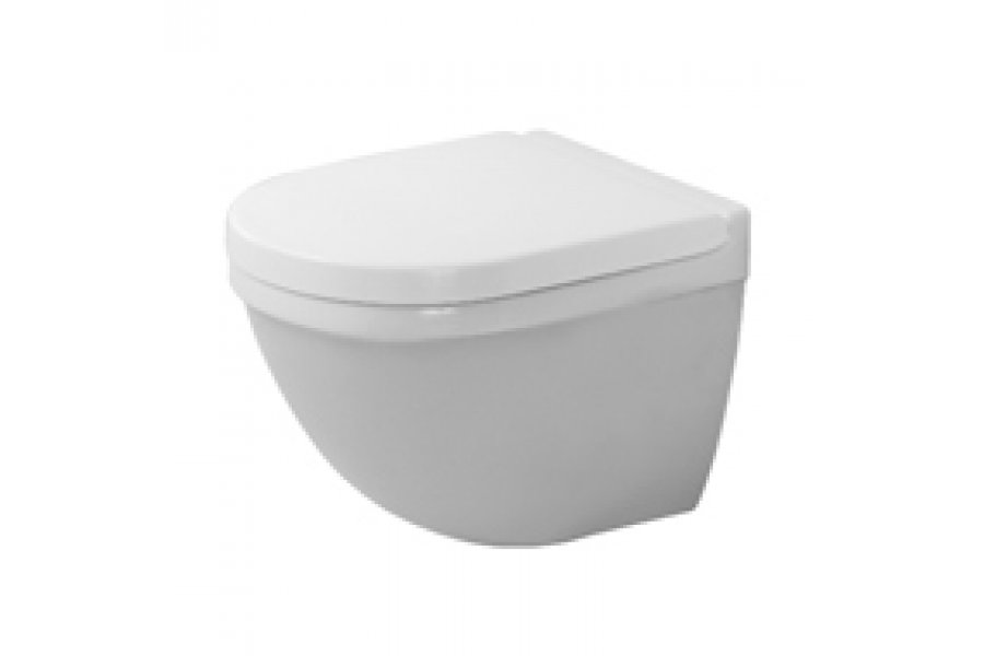 starck 3 compact toilet pan wall mounted by metrix eboss. Black Bedroom Furniture Sets. Home Design Ideas