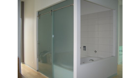Sienna SN120   Top Hung Sliding Door System. U2039 U203a