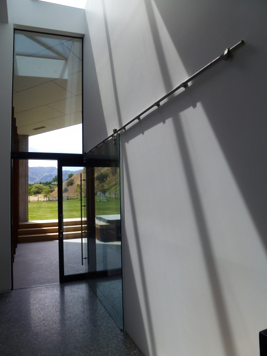 Sienna Sn120 Top Hung Sliding Door System By Metro