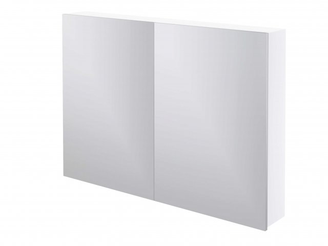 Adesso Mirror Cabinet 1000mm Two Door