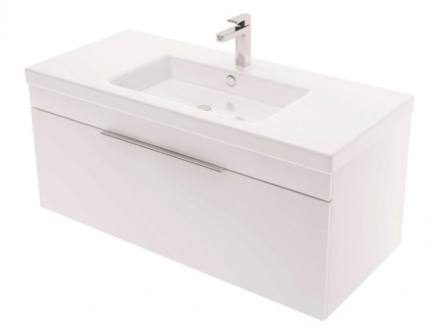 Adesso Urban Wall Hung Vanity 1000mm Centre Basin