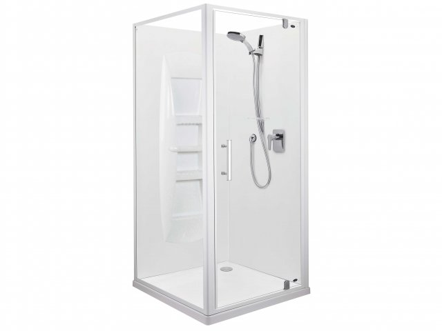 Englefield Ruby Side Contour Wall Shower 1000mm