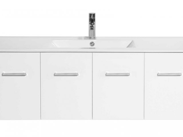 Raymor Boston Wall Hung Vanity 1200mm 2 Door 2 Drawer