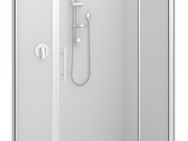 Raymor Brighton 2 Sided Flat Liner Shower 1200mm