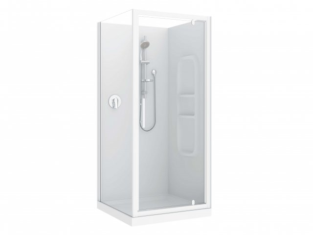 Raymor Brighton 2 Sided Flat Liner Shower 900mm
