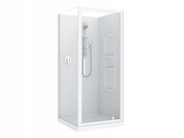 Raymor Brighton 3 Sided Flat Liner Shower 1000mm