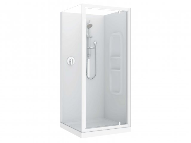 Raymor Brighton 3 Sided Flat Liner Shower 1200mm