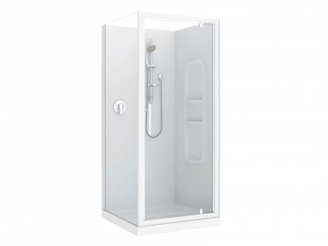 Raymor Brighton 3 Sided Flat Liner Shower 900mm