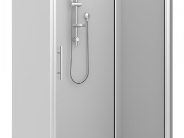 Raymor Brighton 3 Sided Flat Liner Slider Shower 1200mm