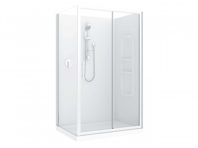 Raymor Brighton Slider Flat Liner Shower 1200mm