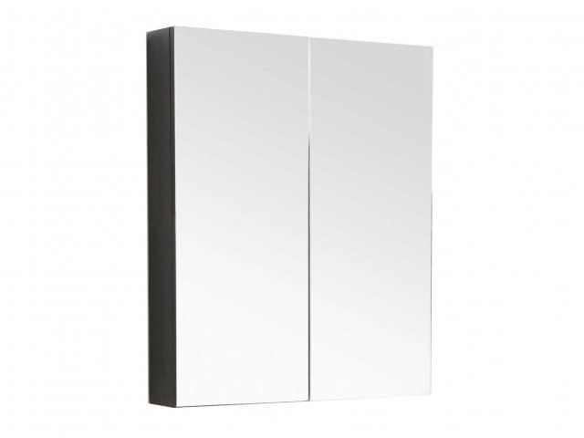 Raymor Mirror Cabinet Two Door White Gloss