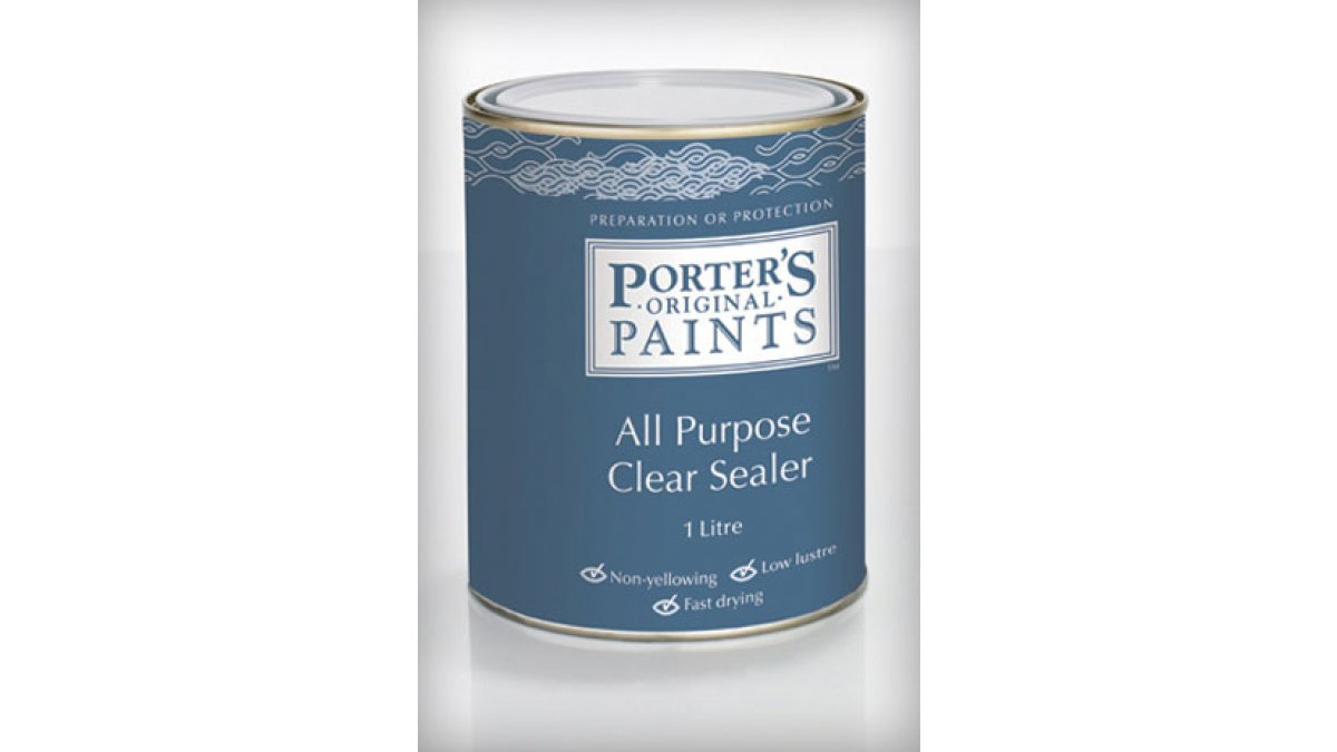 Porters AP Clear Sealer LLR
