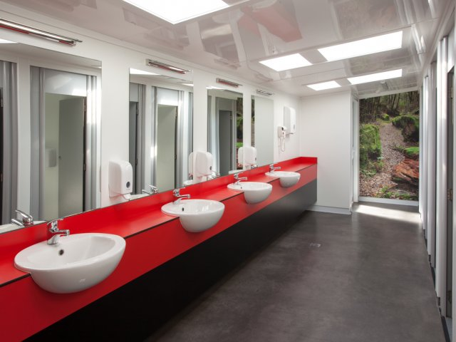 Vanities for Toilet Partitions