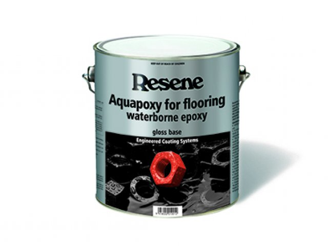 Resene Aquapoxy for Flooring