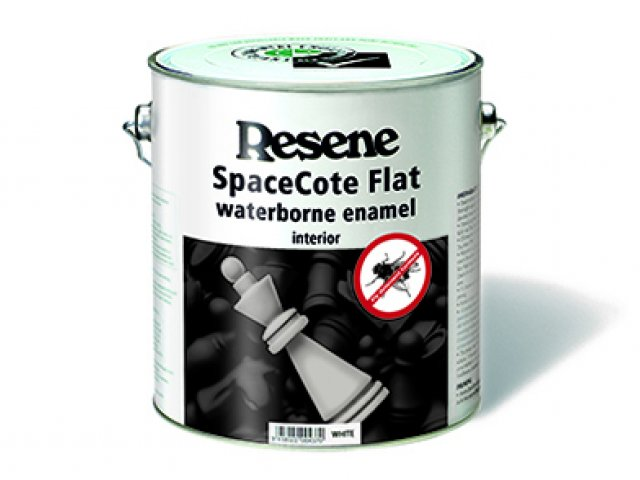 Resene SpaceCote Flat Fly Deterrent