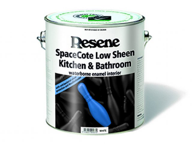 Resene SpaceCote Flat Kitchen & Bathroom