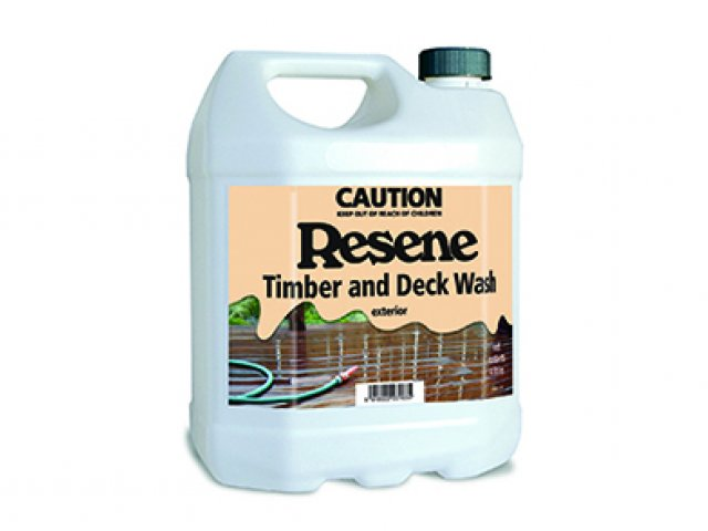 Resene Timber and Deck Wash