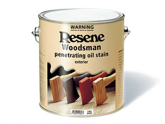 Resene Woodsman Wood Oil Stain