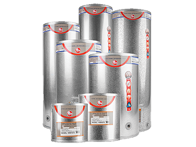 Low Pressure Copper Electric Hot Water Cylinders
