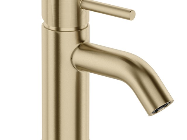 Uno Brushed Brass Collection