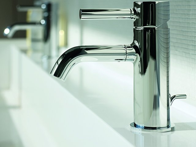 Pan Basin Mixer – Chrome