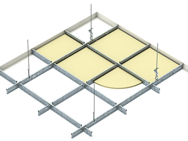 DONN Exposed Grid Ceiling System