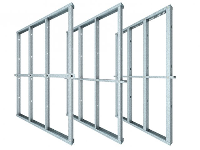 Internal Steel Stud Drywall Framing System