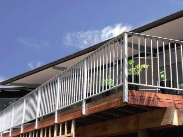 Clearspan Settler Balustrade