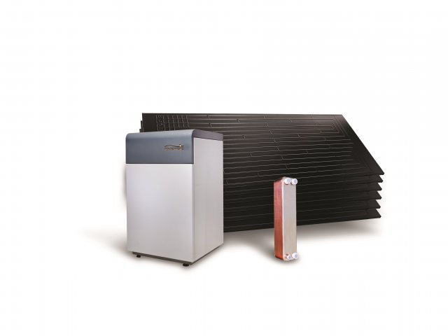 Energie Solar Thermodynamic Central Heating