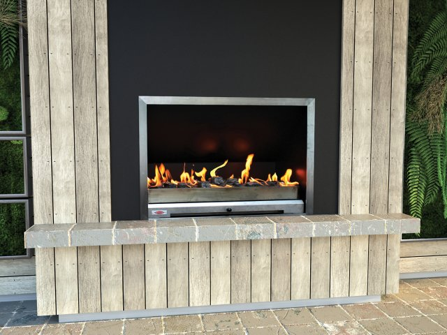 Jetmaster BROFF Outdoor Flueless Gas Fires and Fireplaces