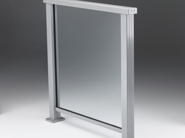 Extreme Barriers — Framed Glass