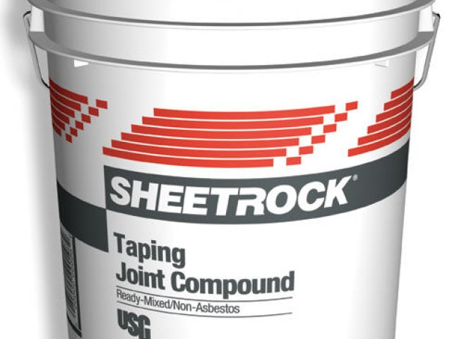 Sheetrock Taping Ready-Mixed Joint Compound