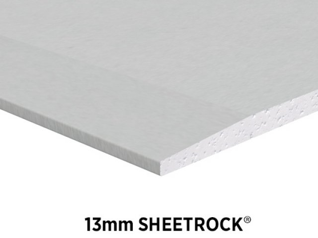 Sheetrock Brand 13mm Ceiling and Wall Plasterboard