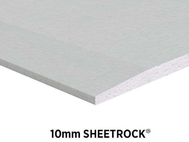 Sheetrock Brand 10mm Ceiling and Wall Plasterboard